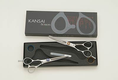 Kansai Left Handed Thinner Scissor Sets