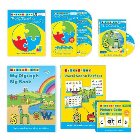 Fix-it Phonics - Level 2 - Teacher's Pack