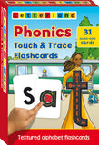 Phonics Touch & Trace Flashcards