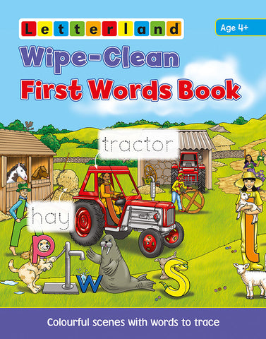 Wipe-Clean First Words Book