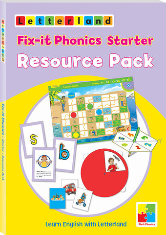 Fix-it Phonics - Starter Level - Resource Pack
