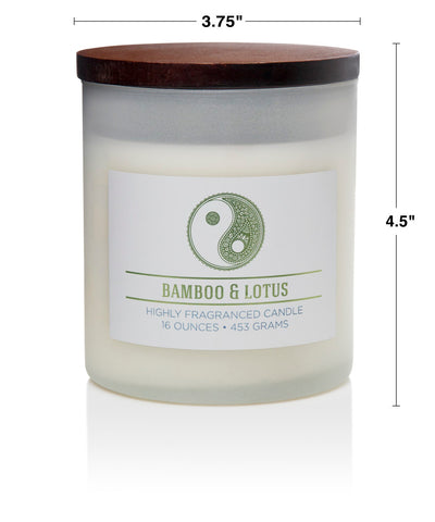 Wellness by Colonial Candle Scented Jar Candle, White Jar, Woods, 16 oz, Wholesale - 4 pk