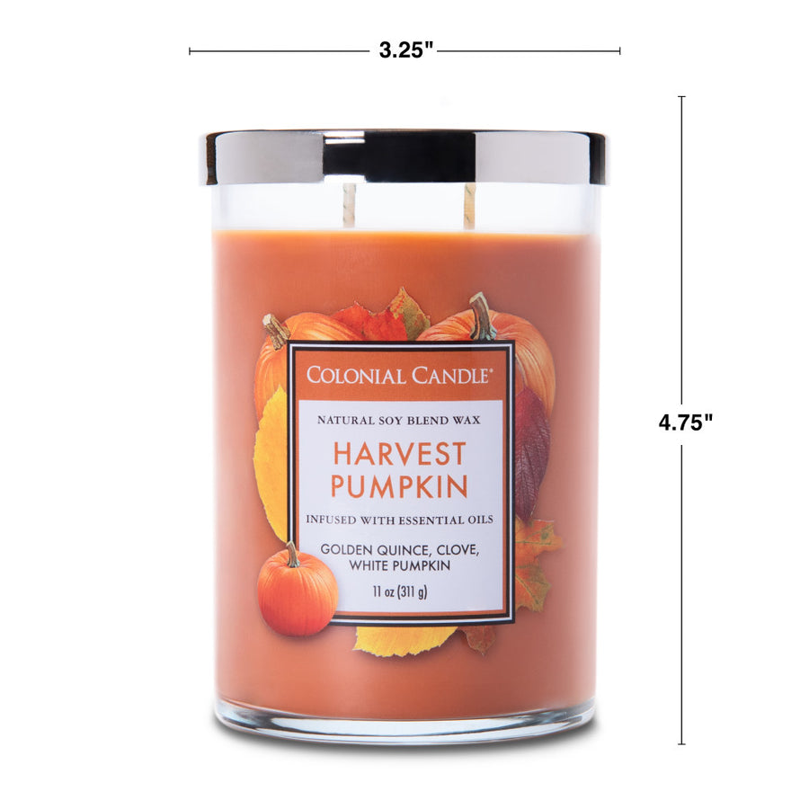 Colonial Candle Classic Cylinder Scented Jar Candle, Cranberry Cosmo, 11 oz, Wholesale - 4 pk