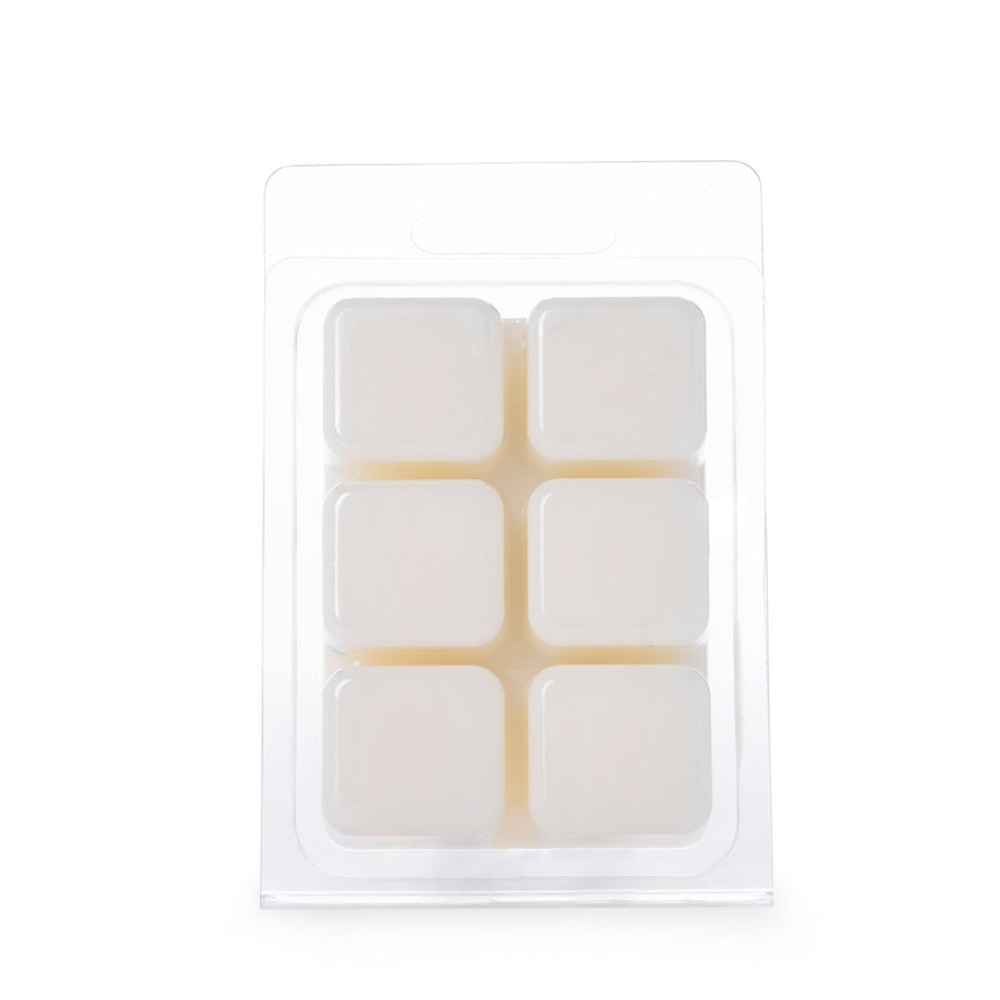 Wellness by Colonial Candle Wax Melt, White, Vanilla Sandalwood, 2.46 oz, 6 cube, Wholesale - 6 pk