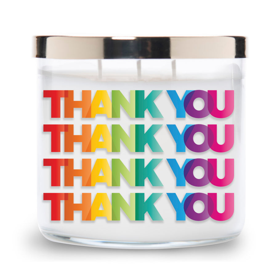 Collections by Colonial Candle Scented Jar Candle, Thank You, 14.5 oz, Wholesale - 4 pk