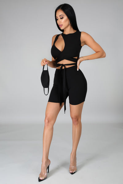 """Catch This Angle"" Romper Set"
