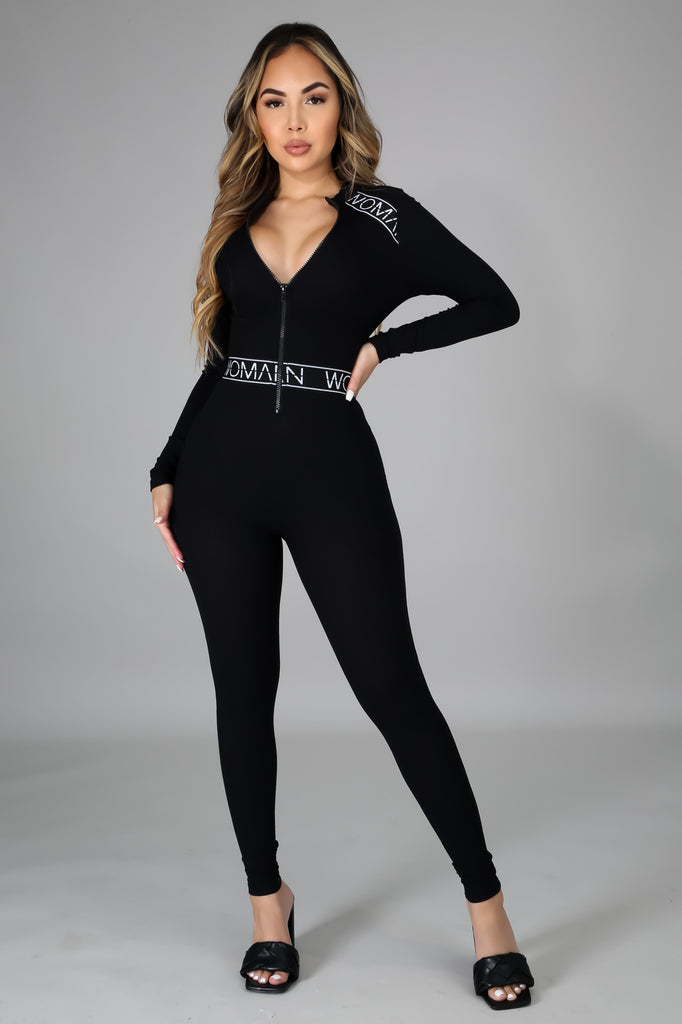 """Woman Power"" Jumpsuit"