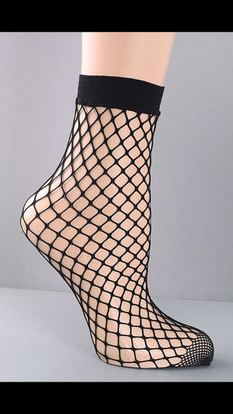 """Hott Stuff"" Fishnet Socks"