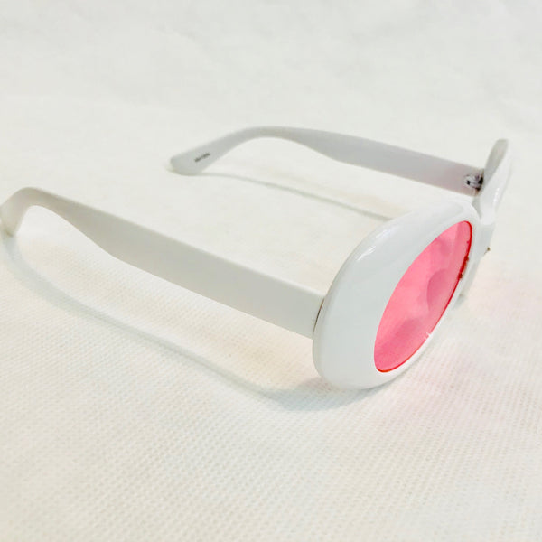 """Suzie Q"" Retro Round Sunglasses"