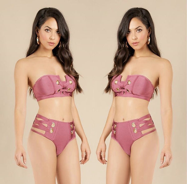 """Marissa"" 2 Piece Bandage Swimsuit"