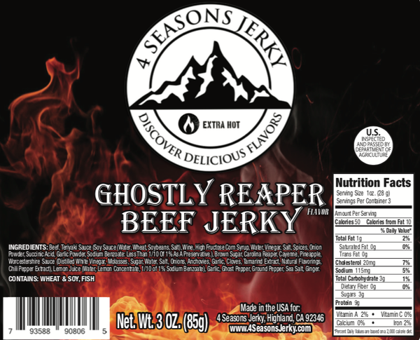 Ghostly Reaper Beef Jerky
