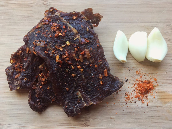 Garlic Chipotle Beef Jerky