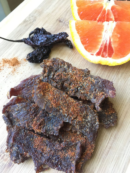Orange Ginger Ghost Pepper Beef Jerky