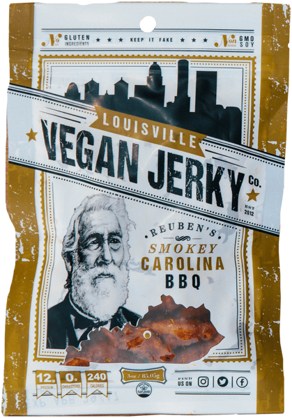 Reuben's Smokey Carolina BBQ by Louisville Vegan Jerky