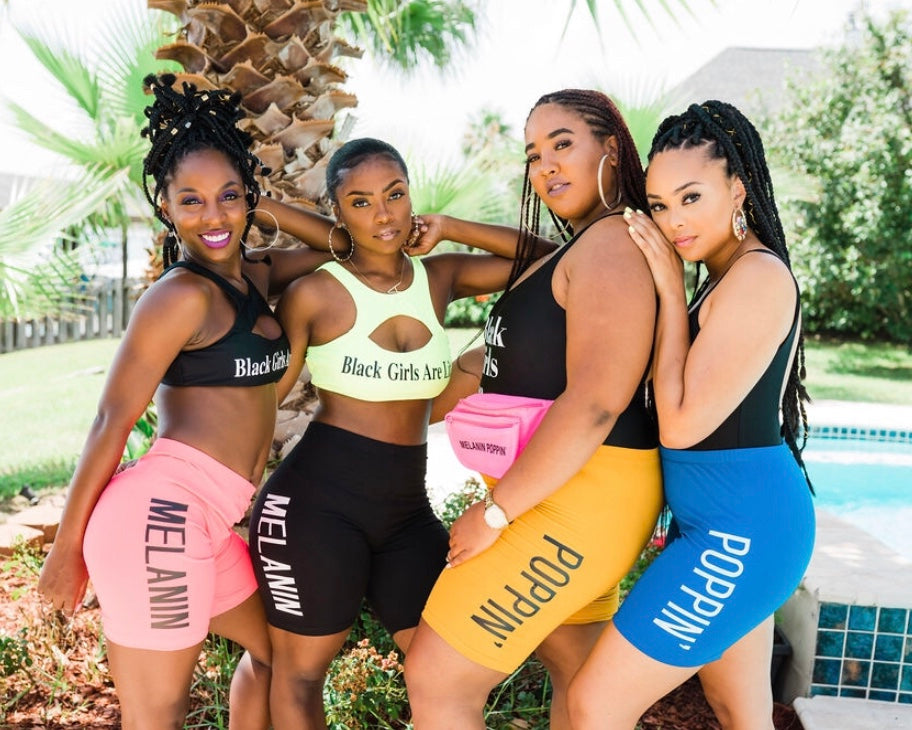 ADS Summer Melanin Poppin' Biker Shorts