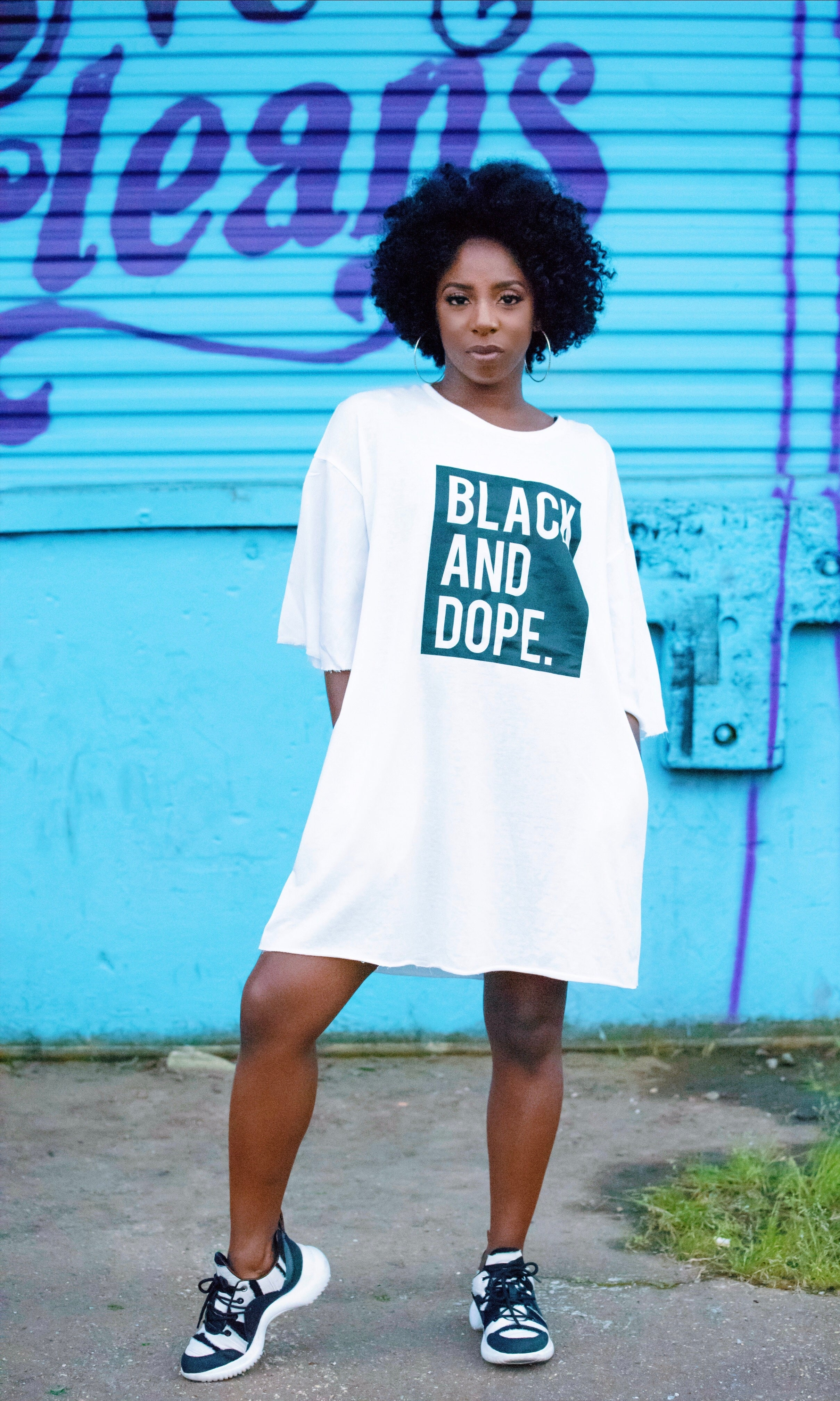 ADS Spring Black and Dope Tee Dress (featured product/minimum quantity)