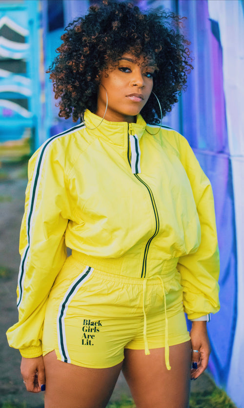 ADS Black Girls Are Lit Windbreaker Set (Featured Product/Minimum Quanity)