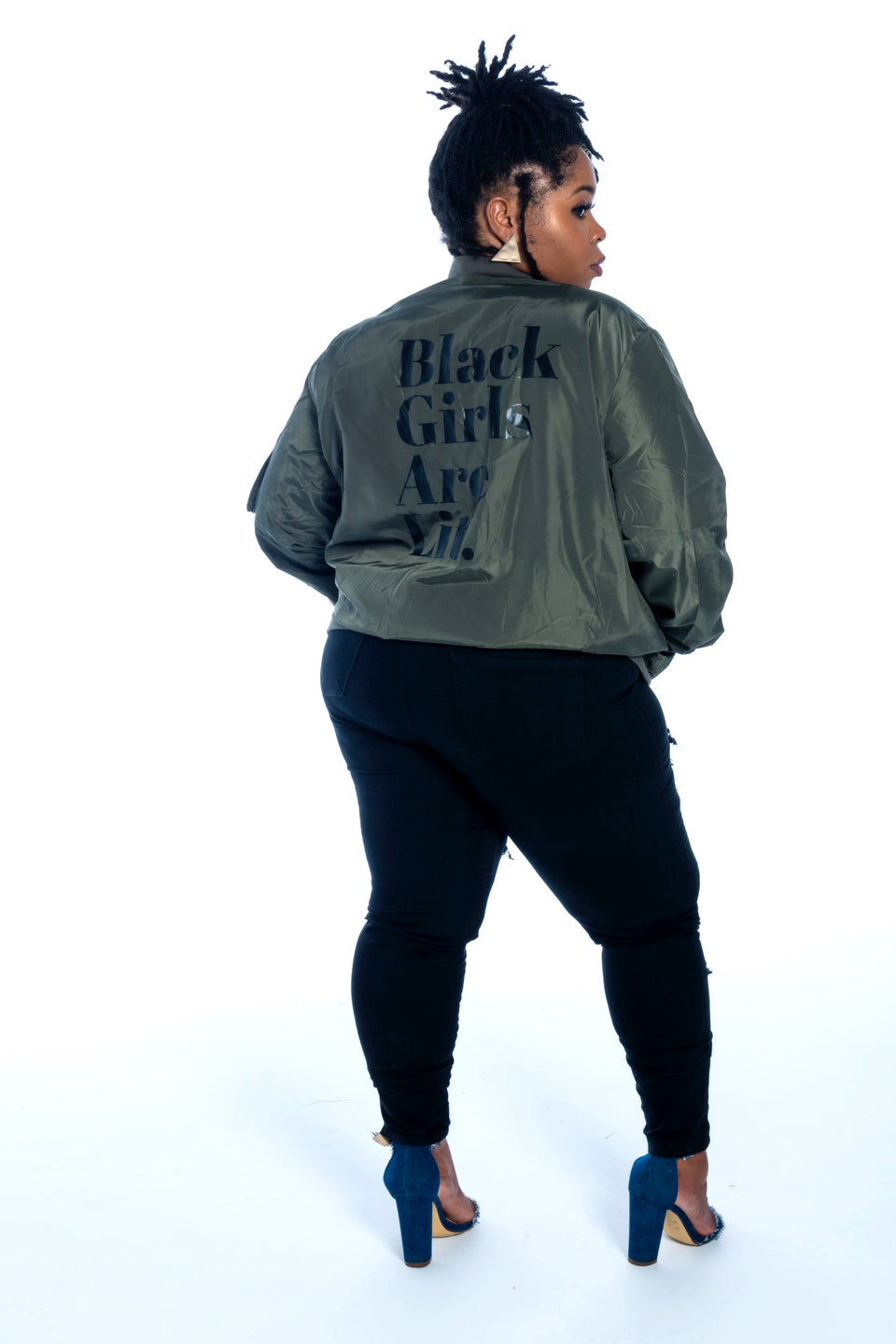 Curvy-  All Dem' Shades Bomber - (More Options Available)