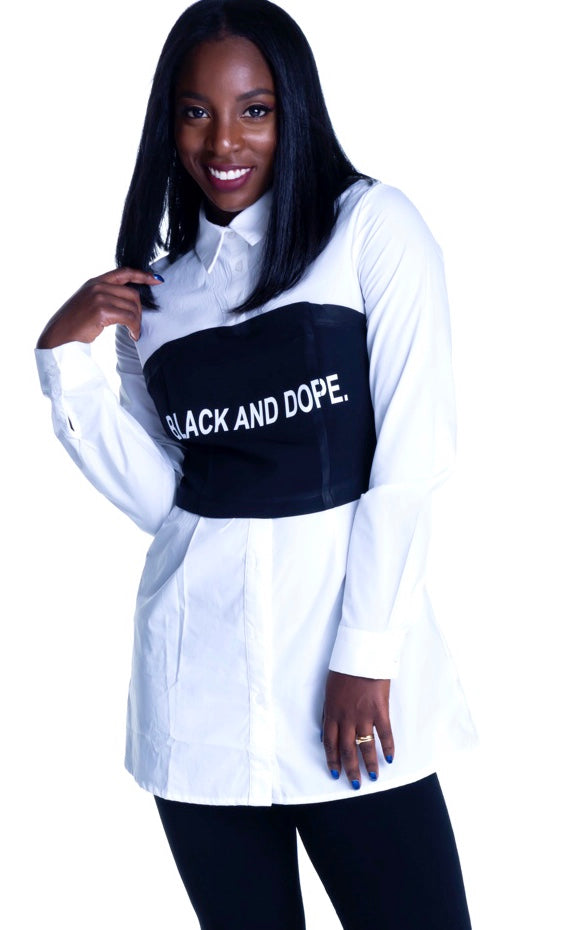 Black And Dope Top