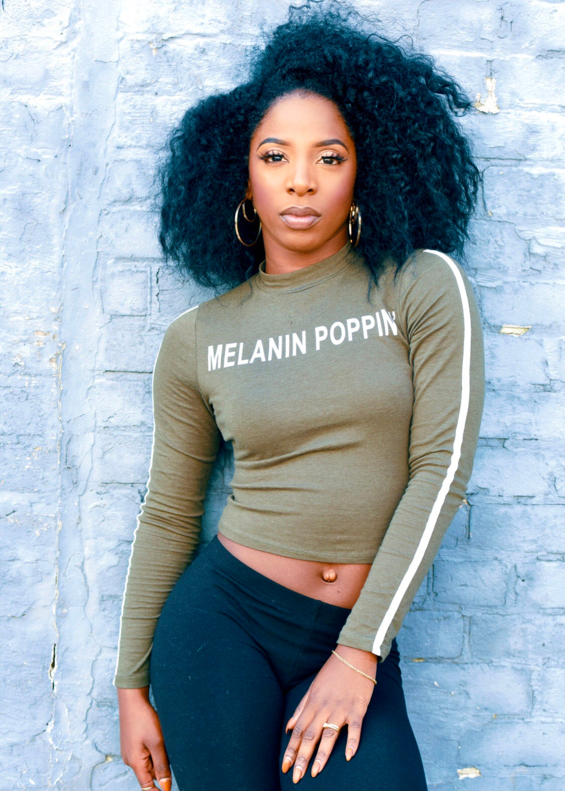 ADS New Fall Melanin Poppin' Crop Top (MORE OPTIONS AVAILABLE)