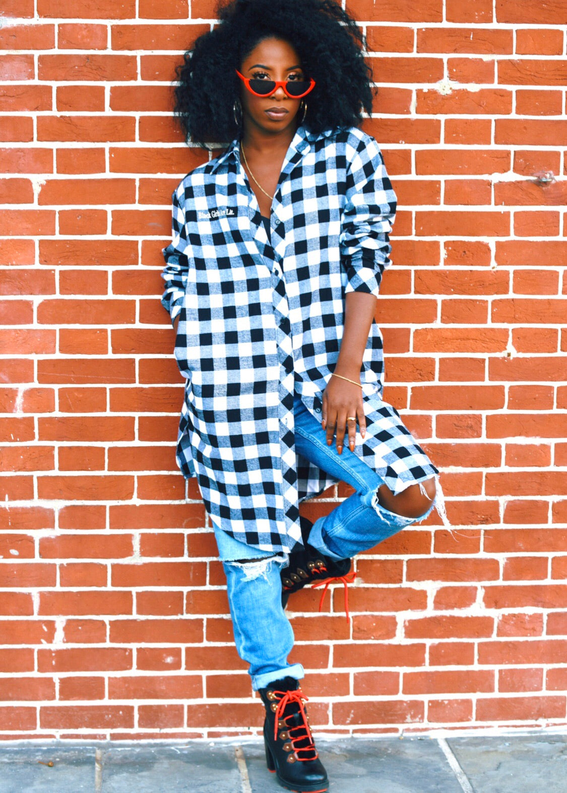 ADS Black Girls Are Lit Flannel Shirt (MORE OPTIONS AVAILABLE)