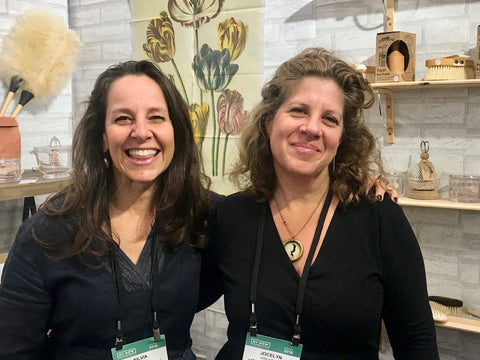 Silvia (left) and Jocelyn at Heaven in Earth's booth at NY Now