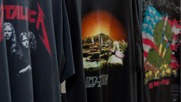 Vintage T-Shirt Market Has Given Old Concert T-shirts a New Life