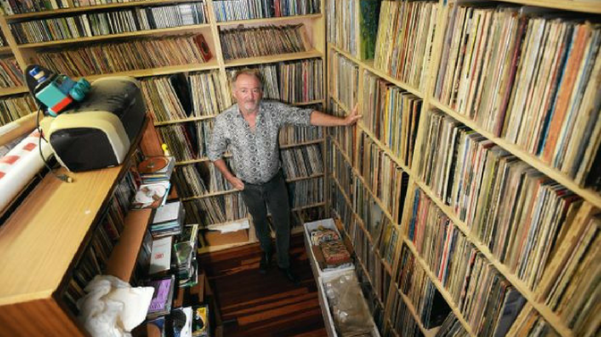 600,000 Plus Records: Gavin Godbold's Obsession With Vinyl