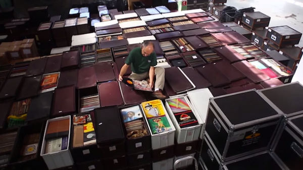 The World's Greatest Vinyl Record Collector