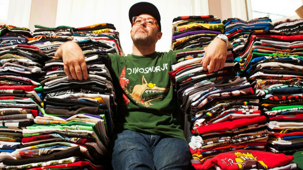 An Interview With Isac Walter Rock T-Shirt Collector