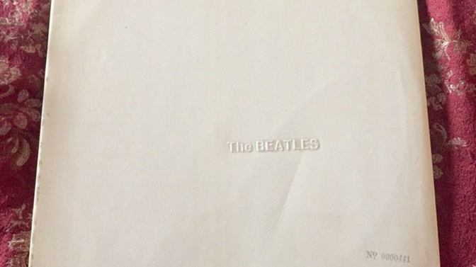 Extremely Rare Beatles White Album up for sale