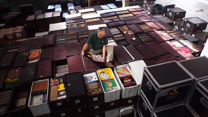 Six Million Plus Record Collection Amassed By One Man