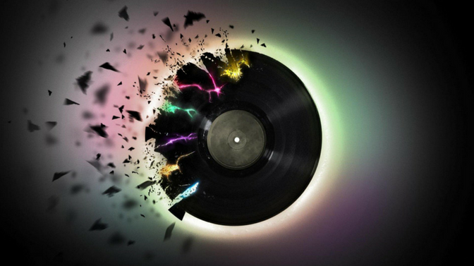 Watch what happens when you spin a vinyl record at 1,500fps