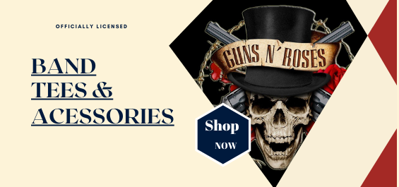 Guns N Roses merchandise is available at rockerteeshirts.com
