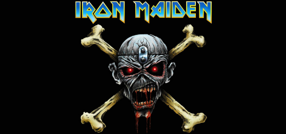 Iron Maiden band merchandise is available at rockerteeshirts.com