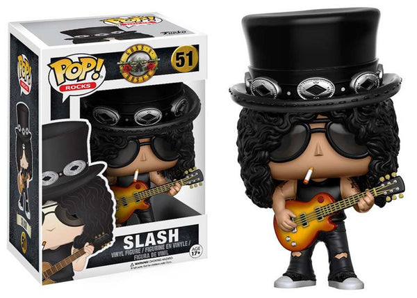 Guns n Roses Slash Pop Rocks Vinyl Figure From Funco Toys is available at Rocker Tee