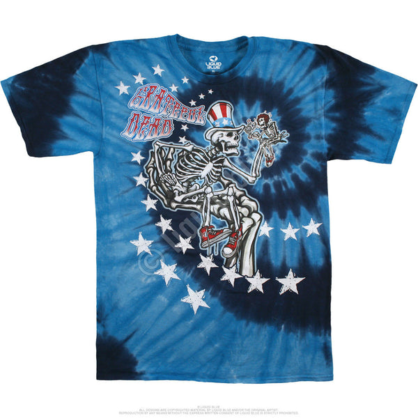Uncle Sam I Am Tie-Dye T-Shirt