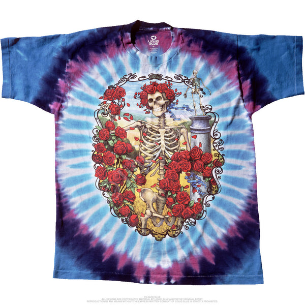 Grateful Dead 30th Anniversary Tie-Dye T-Shirt is available at Rocker Tee Shirts