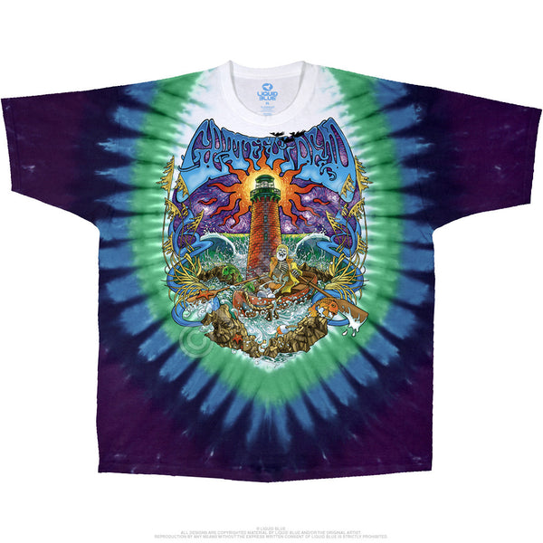 Watch Tower Tie-Dye T-Shirt