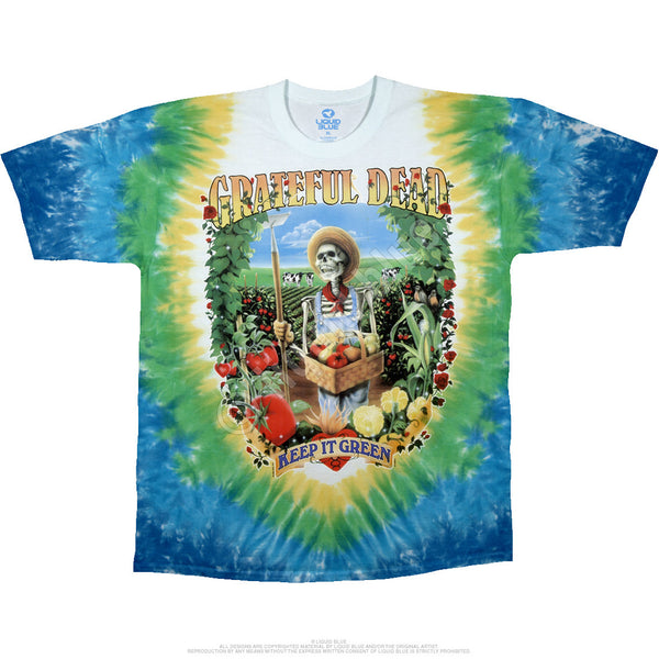 Grateful Dead Let It Grow Tie-Dye T-Shirt is available at Rocker Tee Shirts