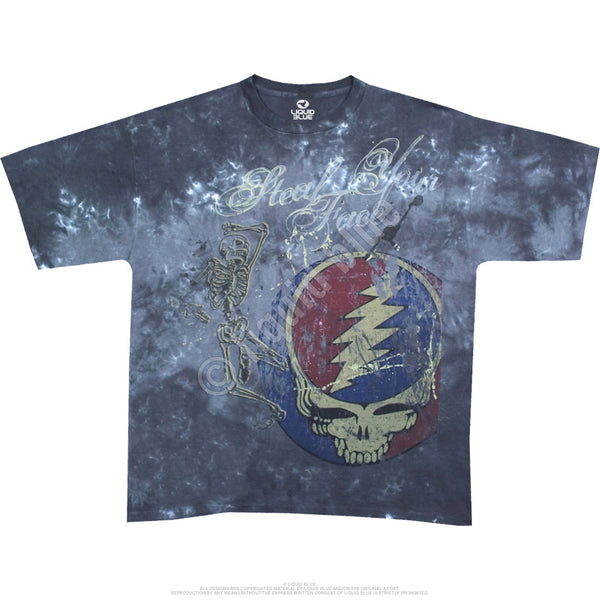 Grateful Dead Mississippi Half Step tie-dye t-shirt is available at Rocker Tee Shirts