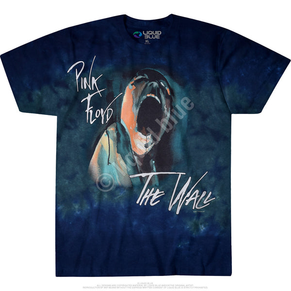 Screaming Face Tie-Dye T-Shirt