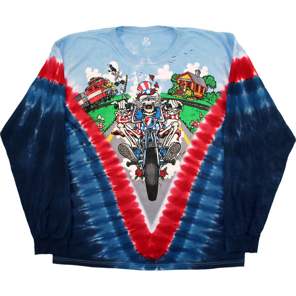 Grateful Dead Motor Riding Sam T-Shirt is available at Rocker Tee Shirts