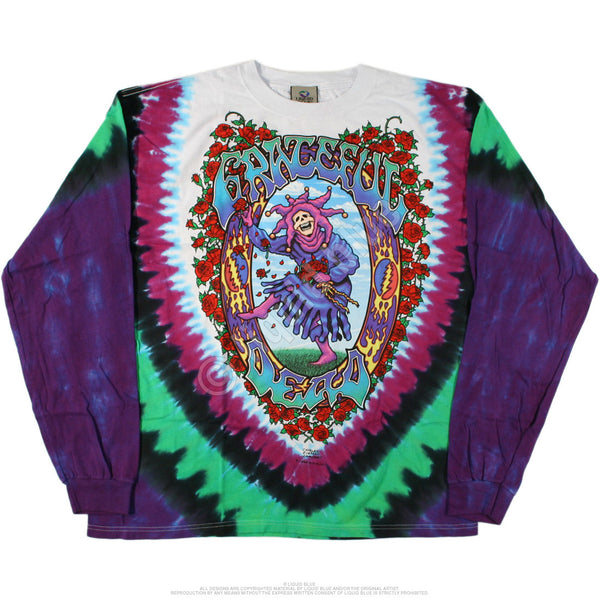 Grateful Dead Seasons Of The Dead long sleeve shirt is available at Rocker Tee Shirts