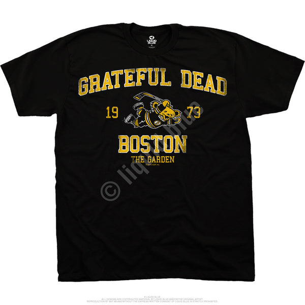 Grateful Dead Boston Bruin Bear T-Shirt is available at Rocker Tee Shirts