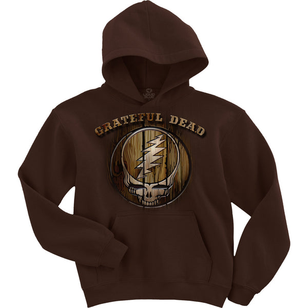 Grateful Dead Beautiful Brown Hoodie is available at Rocker Tee Shirts
