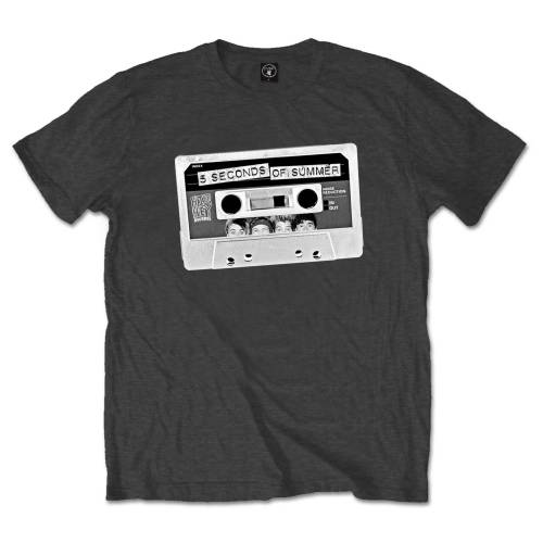 5 Seconds of Summer Unisex Tee: Tape (Small)