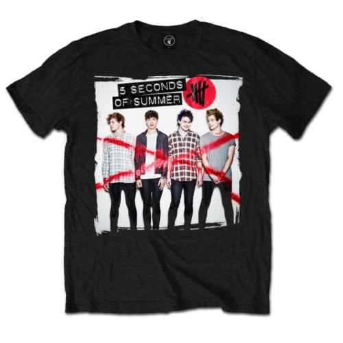 5 Seconds of Summer Unisex Tee: Album Cover 1