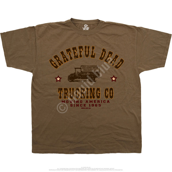 Grateful Dead Trucking Company t-shirt is available at Rocker Tee Shirts