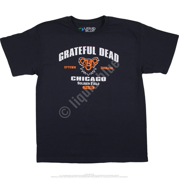 Grateful Dead Chicago Bear July 9th 1995 T-Shirt is available at Rocker Tee Shirts